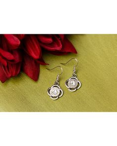 These best seller earrings are simple and graceful. Check out the matching necklace! Ricochet Rounds' jewelry is made with authentic spent rounds. We pride ourselves on providing classy jewelry, where every piece comes with a touch of Southern charm!