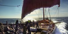 A daring crew prepares to cross the Atlantic – in a Viking ship -- Not for 1000 years has there been a Viking journey this ambitious.