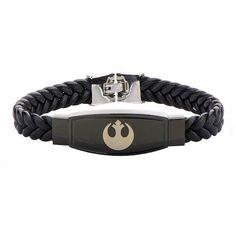 Rebel Alliance Leather Bracelet - $48 ⋆ Star Wars Gifts!