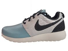 6f9140cb26b9 Nike WMNS NIKE ROSHE ONE LX womens fashionsneakers 881202002 8 METALLIC  SILVERBLACKMICA BLUEIVORY     Continue to the product at the image link.