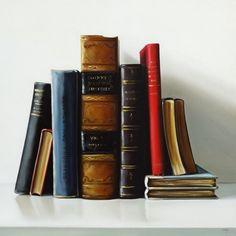 arte-en-pinturas-hiperrealistas-de-libros