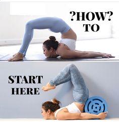 Gymnastics yoga and flexibility