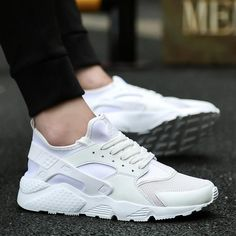 wholesale dealer 6dbf2 4fd2d Shoes Casual Flats Tenis Feminino  Sneakers Zapatillas Nike Huarache, Nike  Huarache Mujer, Summer