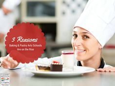 Three Reasons Baking & Pastry Schools Are on the Rise  #Bake #Baking #Pastry #Cooking #Chef Culinary #ECPIUniversity  http://www.ecpi.edu/blog/three-reasons-baking-pastry-schools-are-rise#sthash.HxUBltsP.dpuf