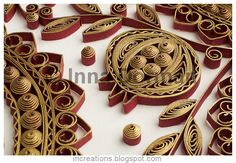 Quilled pomegranate as part of frame for paperwork - Quilling Flowers Color Combinations Paper Quilling Patterns, Neli Quilling, Quilling Paper Craft, Quilling Flowers, Quilling Designs, Quilling Cards, Paper Flowers, Quilling Ideas, Quilling Tutorial