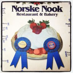 Norske Nook.  Went to the one in Hayward, WI.  The lefse is amazing!