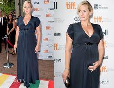 Kate Winslet In Jenny Packham – 'Labor Day' Toronto Film Festival Premiere | #redcarpet #katewinslet #jennypeckham