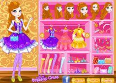 VestirEverAfterHigh.com - Juego: Ashlynn Ella Dress Up - Jugar Juegos Gratis Online