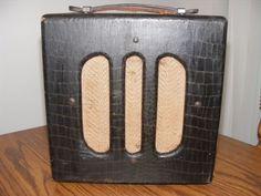 40's Vintage Alligator Valco Magnatone Supro Vintage Tube Amplifier Guitar Amp