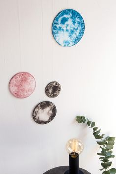 DIY: Seidenbilder - Seidenmalen mit Salz