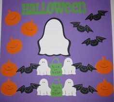 HALLOWEEN Scrapbook Border Set Page Layout / by easyscrapbooking, $7.50