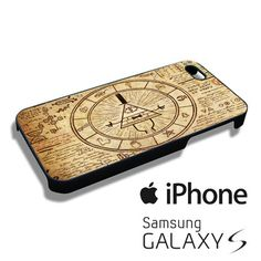 The Gravity Falls Intrigue Triangle Eye iPhone 4/4s,iPhone 5/5s/5c,Samsung Galaxy S3/S4/S5 Case