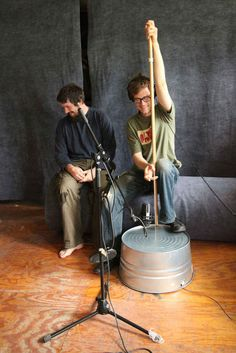 Know what would sound great with that? This washtub bass. | 12 Sweet DIY Instruments For Cash-Strapped Musicians