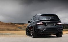2013 TopCar Mercedes Benz ML-63 AMG Inferno suv tuning    h wallpaper background