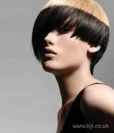 Foto de peinado bob asimétrico 2006