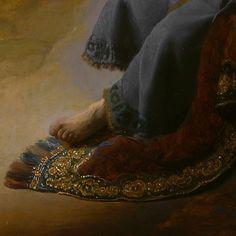 Rembrandt Danaë detail
