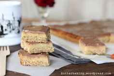 Caramel Slice - a delicious slice of Australia!  I'm totally making these!