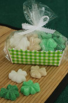 Packaged sugar cubes how- to