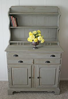 Antique Recreation - love this color for the bedroom furniture