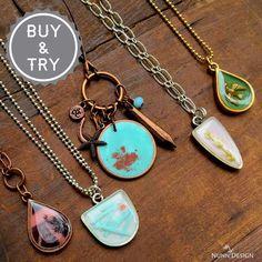 Create a Faux Druzy Pendant - Nunn Design Resin Jewelry Making, Soldering Jewelry, Resin Jewellery, Jewelry Kits, Jewelry Crafts, Dolphin Jewelry, Resin Crafts, Jewellery Display, Metal Stamping