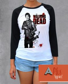 Darly Dixon Norman Reedus The Walking Dead by AplusApparel on Etsy I really want this! Darryl Dixon, Copy Cats, Norman Reedus, The Walking Dead, Favorite Tv Shows, Robin, Weapons, Cute Outfits, Graphic Sweatshirt