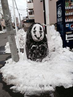 千と千尋の神隠し    かおなし!  「kaonashi」