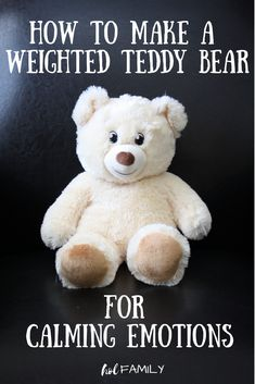 Learn how to make a DIY weighted stuffed animal as a sensory calming tool for emotional regulation in kids. Sensory Tools, Autism Sensory, Sensory Wall, Sensory Boards, Sensory Diet, Anxiety In Children, Children With Autism, Autistic Children, Amigurumi