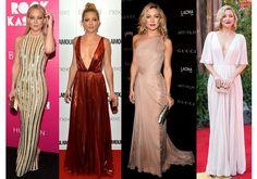 Lindíssima: Os dez melhores looks de Kate Hudson no tapete vermelho