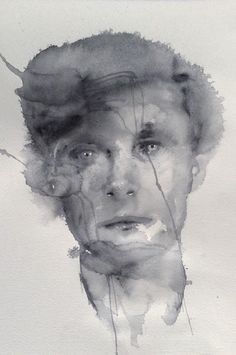Sam. Watercolor on watercolour paper. 540mm x 370mm. #painting #watercolour #Portrait