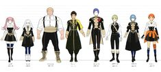 View an image titled 'Characters Lineup Art' in our Fire Emblem: Three Houses art gallery featuring official character designs, concept art, and promo pictures. Game Character Design, Character Sheet, Character Concept, Concept Art, Deer Girl, Fairytale Fashion, Fire Emblem Characters, Blue Lion, Character Outfits