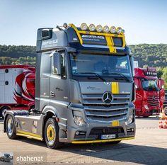 Mb Truck, Mercedes Benz Trucks, Old Wagons, Heavy Equipment, Techno, Transportation, Mp5, Vehicles, Instagram