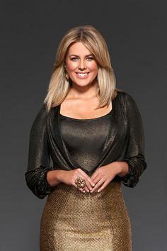 Samantha Armytage - she's a real woman and she's fabulous. Love Sam.