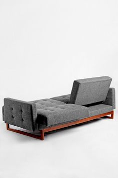 Either Or Sofa in Grey http://uoeur.pe/uohomewares #Home #UrbanOutfittersEurope