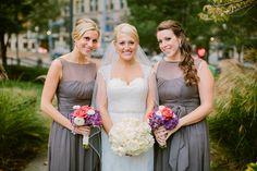 Flowers: Posy.  caitlin thomas | megan + pher. a classic duquesne club wedding.