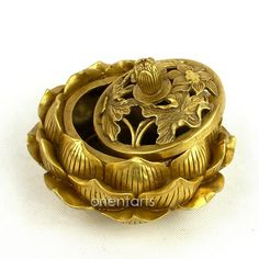 Show Picture of Brass Lotus Incense Burner Wall Planters, Incense Burner, Lotus, Lion Sculpture, Brass, Statue, Pictures, Art, Photos