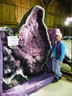 Giant Amethyst Geode from Uruguay  weighs 4400lbs!