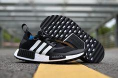 c4c7434ba Adidas NMD 2017 R1 Unisex  black White shoes Whatsapp 8613328373859