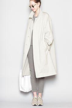 Totokaelo - Christophe Lemaire - Overcoat - Ash Grey