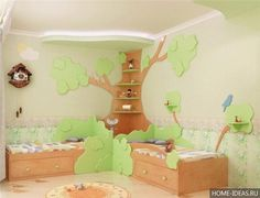 Как оформить детскую комнату, фото интерьеров детской