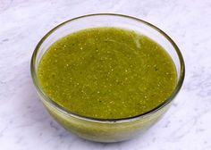 "authentic mexican salsa Recipe for an authentic""salsa verde,"" or ""green sauce,"" a staple in every Mexican kitchen. It is so simple to make from easy to find ingredients. You mak Mexican Cooking, Mexican Food Recipes, Sauce Recipes, Cooking Recipes, Vegan Recipes, Fun Cooking, Vegan Food, Beef Recipes, Sauces"