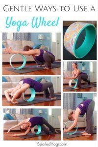 Yoga wheels are amazing yoga props - and not just for the advanced backbends and inversions you see all over social media. Here are 5 new, more gentle, ways to use a yoga wheel. Learn how to use a yoga wheel for beginners. Vinyasa Yoga, Ashtanga Yoga, Yoga Régénérateur, Yoga Pilates, Yoga Moves, Yoga Flow, Yin Yoga, Yoga Meditation, Yoga Nidra
