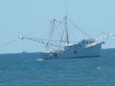 Fishing boat off Ocean Isle Beach, NC