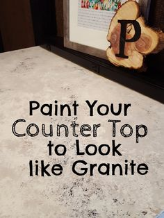 Painting the Countertop: Making the Best of a Bad Thing