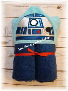 Hey, I found this really awesome Etsy listing at https://www.etsy.com/listing/249489018/r2-d2-inspired-hooded-toweltowel