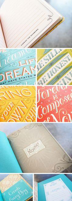 day planner designed by Jessica Hische.