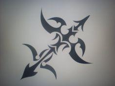 sagittarius tribal tattoo - Google Search