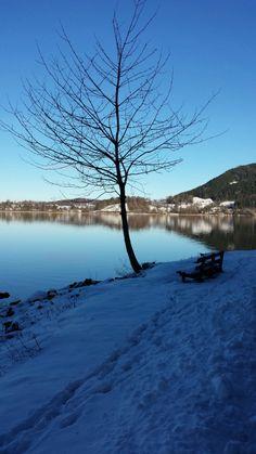 Winterurlaub am Tegernsee - die ersten Eindrücke für einen herrlichen #Urlaub in #BadWiessee. Lassen Sie sich von Frau Holle verzaubern.
