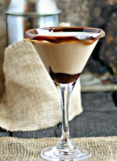 Hungry Couple: Chocolate and Peanut Butter Martini #CocktailDay