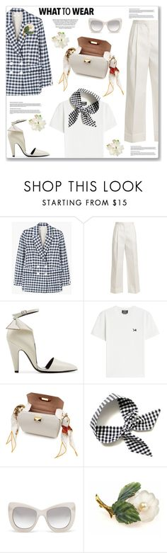 """""""My Mood Today"""" by lidia-solymosi ❤ liked on Polyvore featuring MANGO, The Row, Calvin Klein 205W39NYC, Alexander McQueen and Le Specs Luxe"""