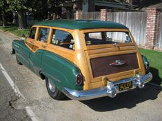 1951 Buick Roadmaster Station Wagon Maintenance/restoration of old/vintage vehicles: the material for new cogs/casters/gears/pads could be cast polyamide which I (Cast polyamide) can produce. My contact: tatjana.alic@windowslive.com